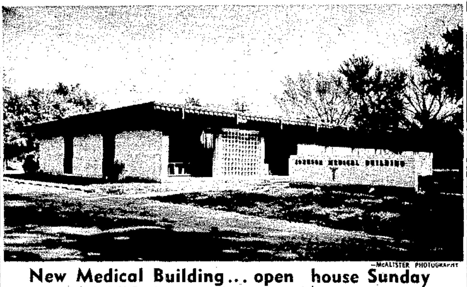 Johnson Medical Building aka Charles Drew Health Center, N. 28th and Manderson Avenue, Bedford Place neighborhood, North Omaha, Nebraska