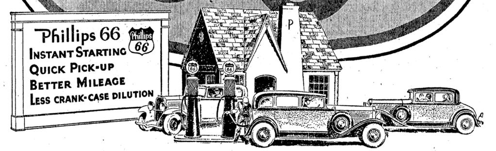 Historic Phillips 66 gas station Omaha Nebraska