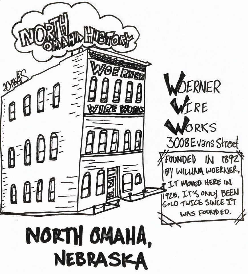 Woerner Wire Works, 3008 Evans Street, North Omaha, Nebraska