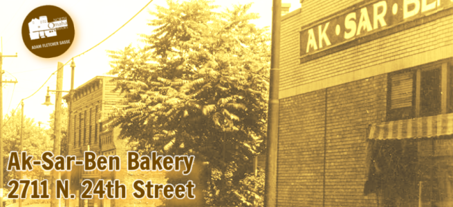 Ak-Sar-Ben Bakery 2711 24th Street North Omaha Nebraska