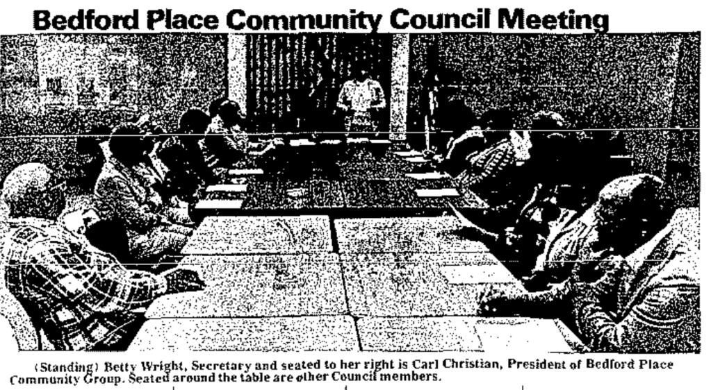Bedford Place Community Council, North Omaha, Nebraska