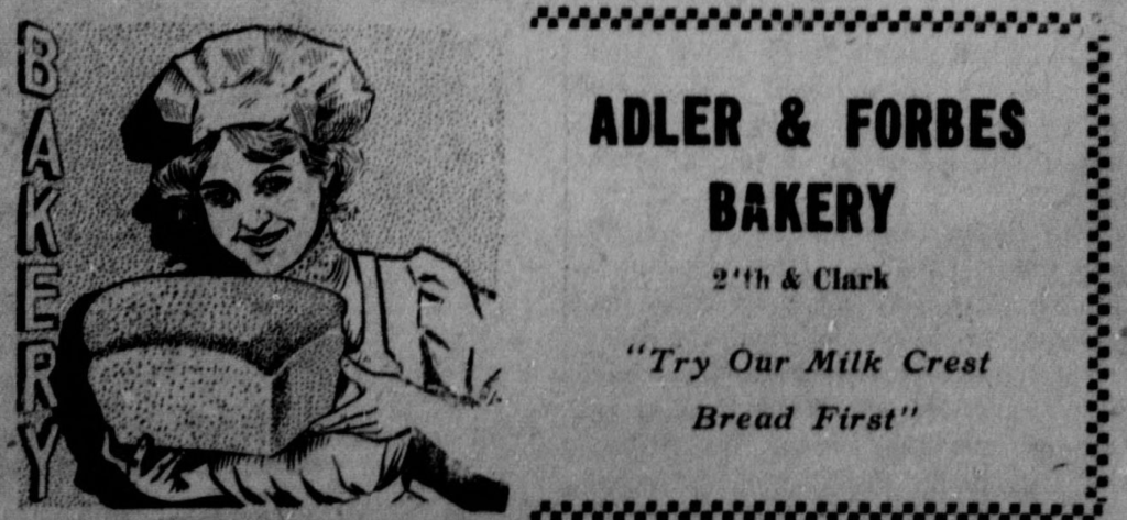 Adler & Forbes Bakery, 1711 North 24th Street, North Omaha