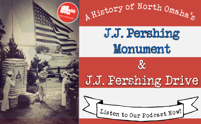 JJ Pershing Monument and Drive Omaha